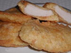 Филе курицы в сырной шубке