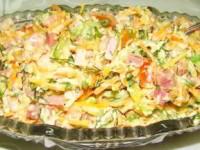 Салат «Цветик – Семицветик»