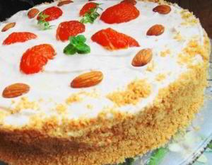 рецепт торта Краковский