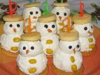 рецепт Сырные снеговики
