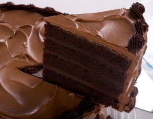 рецепт Шоколадный торт со сгущенкой