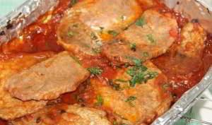 рецепт Мясо в томатном соусе
