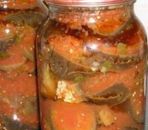 Баклажаны в аджике - рецепты на зиму
