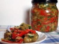 """Баклажаны маринованные """"под грибы"""" - рецепт на зиму"""