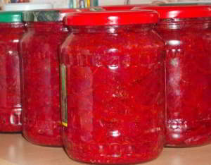 Борщевая заправка (закатка) рецепт на зиму