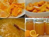 рецепт Варенье из персиков с апельсинами