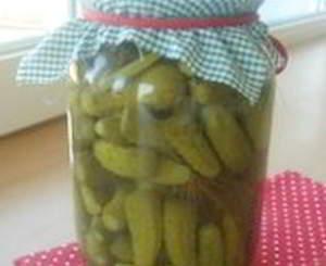 рецепт Вкусные домашние маринованные огурцы