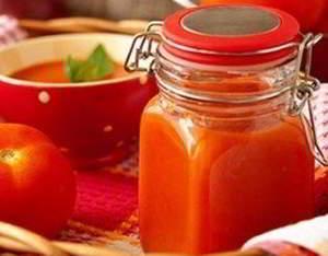 Домашний кетчуп - рецепт на зиму