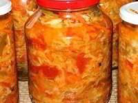 рецепт Салат Кубанский на зиму