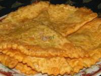 рецепт «Крымские» чебуреки из слоеного теста