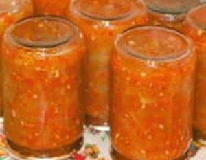 рецепт Заготовка на зиму «Язычки из кабачков»