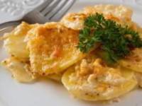 рецепт Картофель, запеченный с сыром