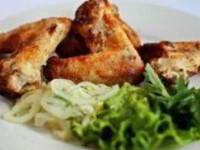 рецепт Куриные крылышки, жареные по-быстрому