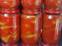 рецепт Перец в заливке на зиму