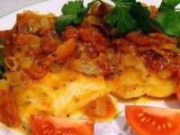 рецепт Рыба по-средиземноморски
