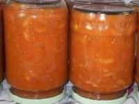 рецепт Салат На каникулах из фасоли и помидоров