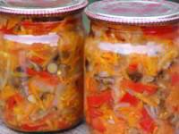рецепт Солянка на зиму с грибами