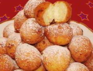 рецепт Творожные пончики