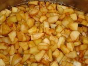 рецепт Яблочная начинка с корицей для пирогов