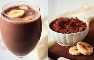 Банановое какао