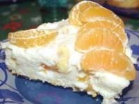 Бананово-мандариновый торт