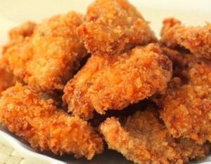 Куриные наггетсы без масла и муки