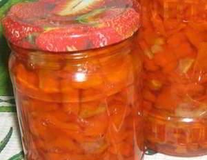 Морковный джем