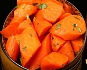 Морковь, жаренная в меду