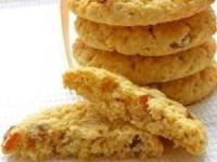 Мягкое овсяное печенье с изюмом