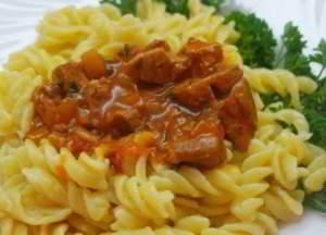 Мясная подлива-соус для вторых блюд