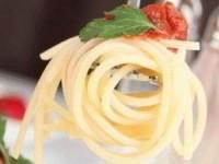 Паста с телятиной и томатным соусом
