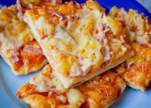 Пицца по-гавайски