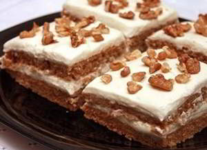 Творожно-гречневый торт