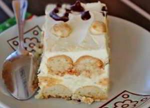 Торт поленница
