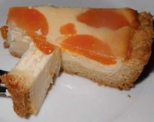 """Торт творожный с мандаринами """"Нежный"""""""
