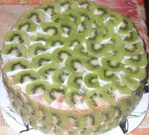 """Торт """"тропиканка"""" за 15 мин"""