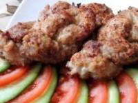 рецепт Нежные мясные косички