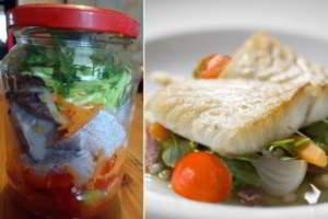 рецепт Рыба в банке скумбрия