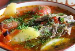 рецепт Суп-шурпа Суп Шурпа по-кавказски