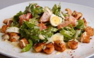 рецепт Финский салат из лосося