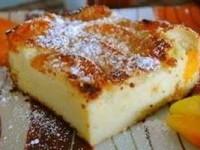 рецепт Французская манная запеканка с абрикосами
