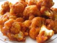 рецепт Цветная капуста в кляре из сыра и горчицы