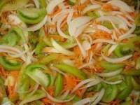 рецепт салат из зеленых помидоров