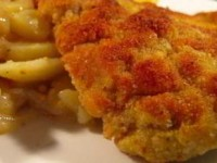 Венский шницель с картофельным салатом