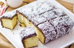 Австралийский кекс с кокосовой стружкой