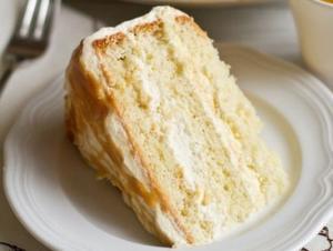 легкий и простой бисквитный торт