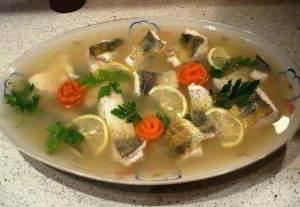 Заливная рыба к новогоднему столу