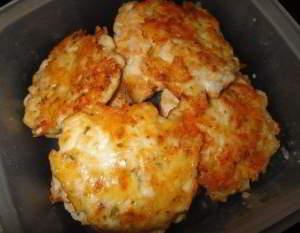 Куриные оладушки