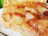 Ленивый яблочный пирог