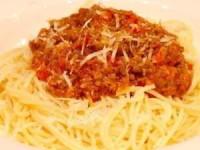 Мясной соус для спагетти